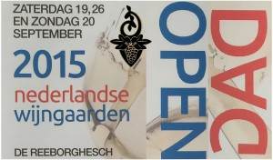 Open dag Nederlandse wijngaarden