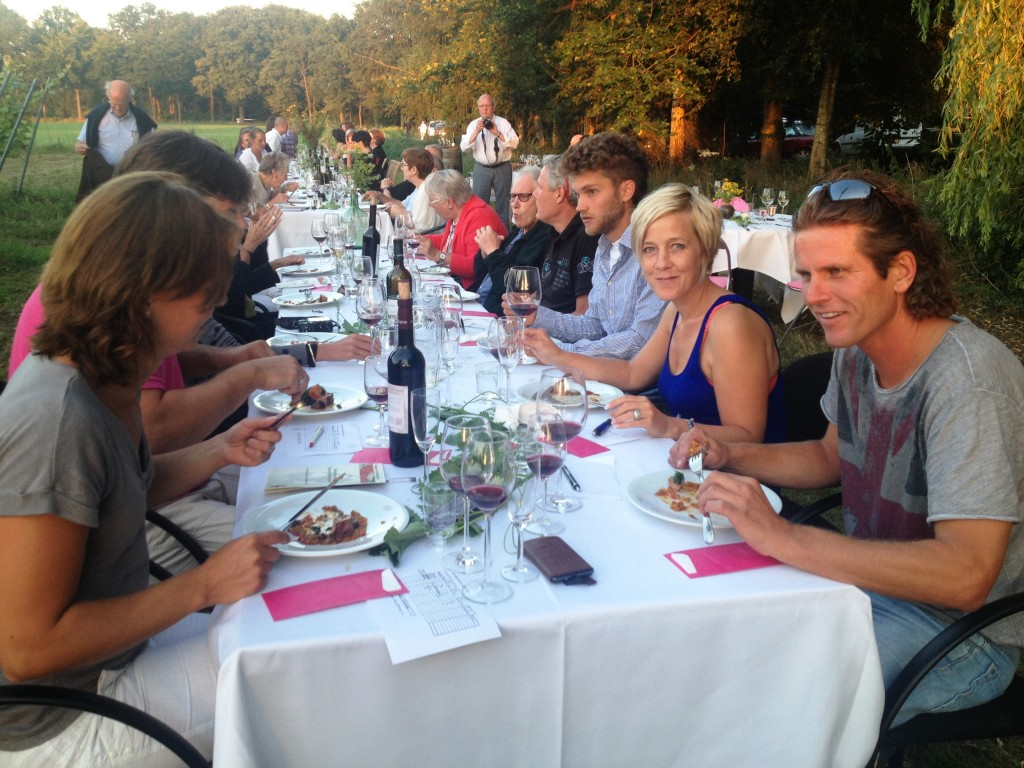 Wijnevenementen op Wijngaard De Reeborghesch