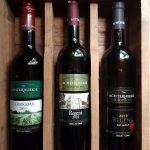 Wijnpakket met Goodgoan 2015, Regent 2010 en Regent op Holt 2012. Actieprijs €34 (normaal €37)